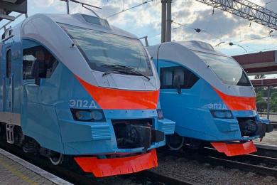В Крыму завершили обновление парка пригородных поездов