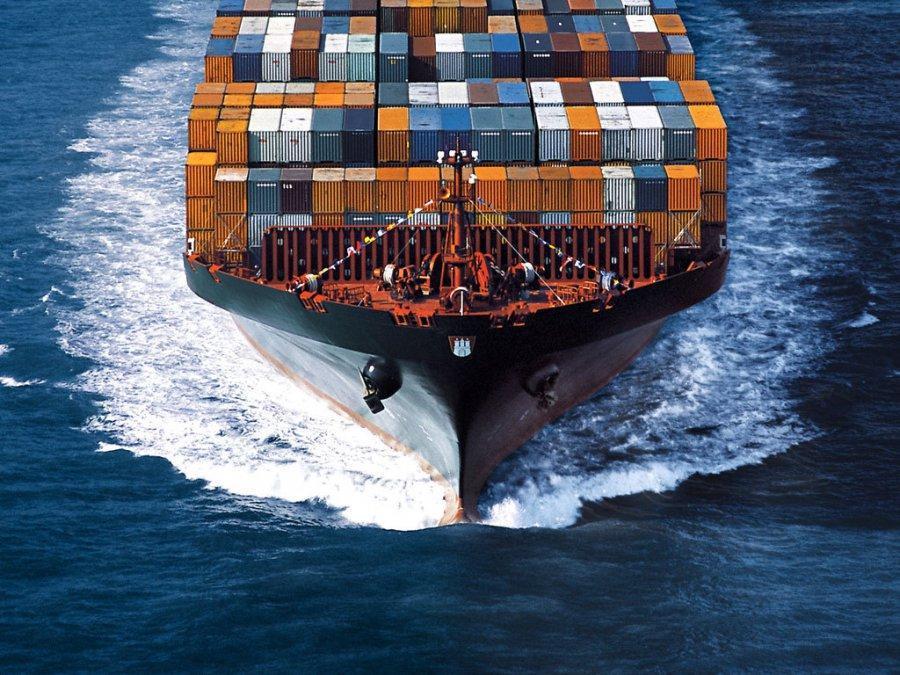 Грузооборот морских портов России (октябрь 2015 г.)