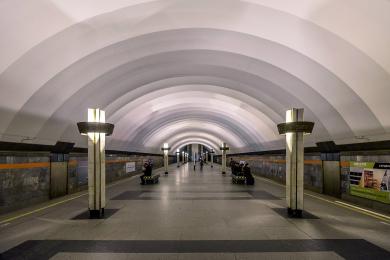 В 2022 году станцию метро Ладожская в Петербурге закроют на капремонт