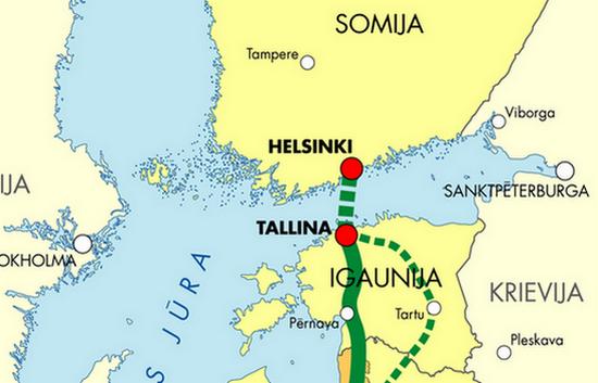 Тоннель через Балтийское море обещает построить создатель Angry Birds