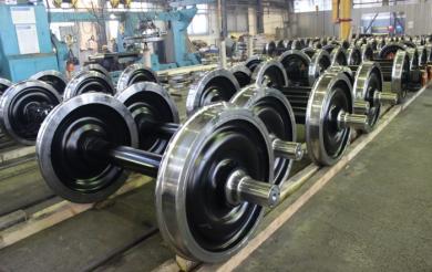 Железнодорожные операторы России против запрета на импорт украинских колес для вагонов