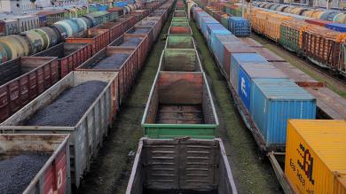 Более 1,2 тыс. соединенных грузовых поездов проследовало по Забайкальской магистрали в I квартале