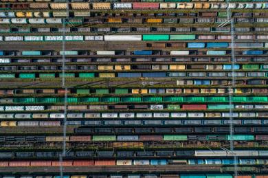 ОАО РЖД увеличило скорость доставки грузов на 6,7% в январе – апреле