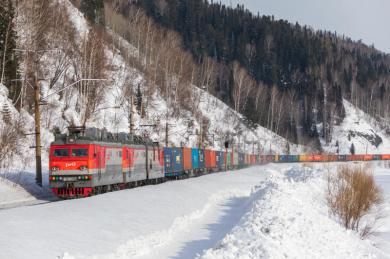 Отправка грузов в контейнерных поездах на СКЖД выросла в январе на 6,5%