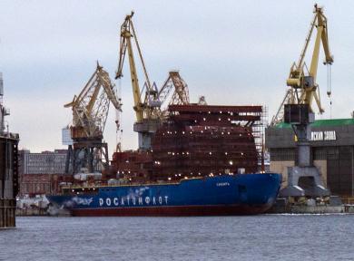 Атомфлот объявил конкурс на 100 млрд рублей по строительству серийных ледоколов