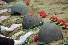 Благотворительный фонд «Новотранс-5П» ищет родственников погибшего в 1943 году красноармейца из Подмосковья