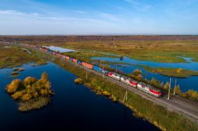 РЖД: за 17 лет работы компании выбросы загрязняющих веществ от работы железнодорожного транспорта снизились на 71%