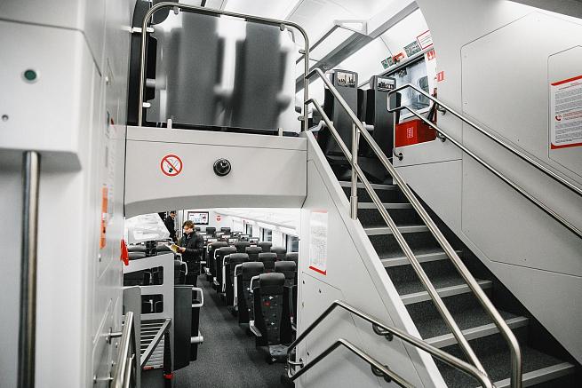 «Аэроэкспресс» обьявила озапуске первого двухэтажного поезда